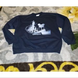 Disneyland Paris Blue Crewneck Sweater XL